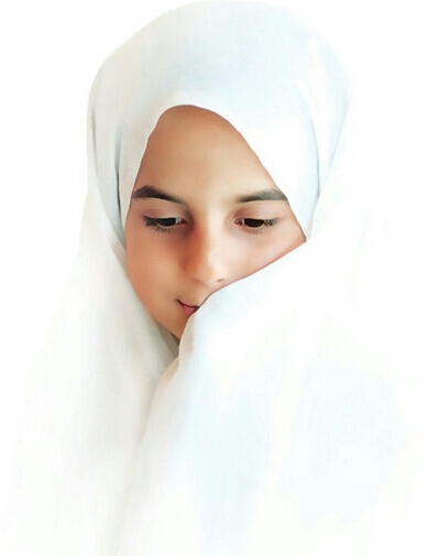 حجاب یک لباس معنوی است